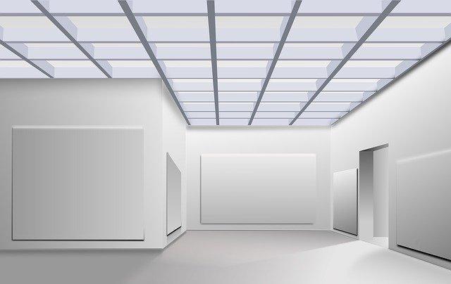 prázdná galerie